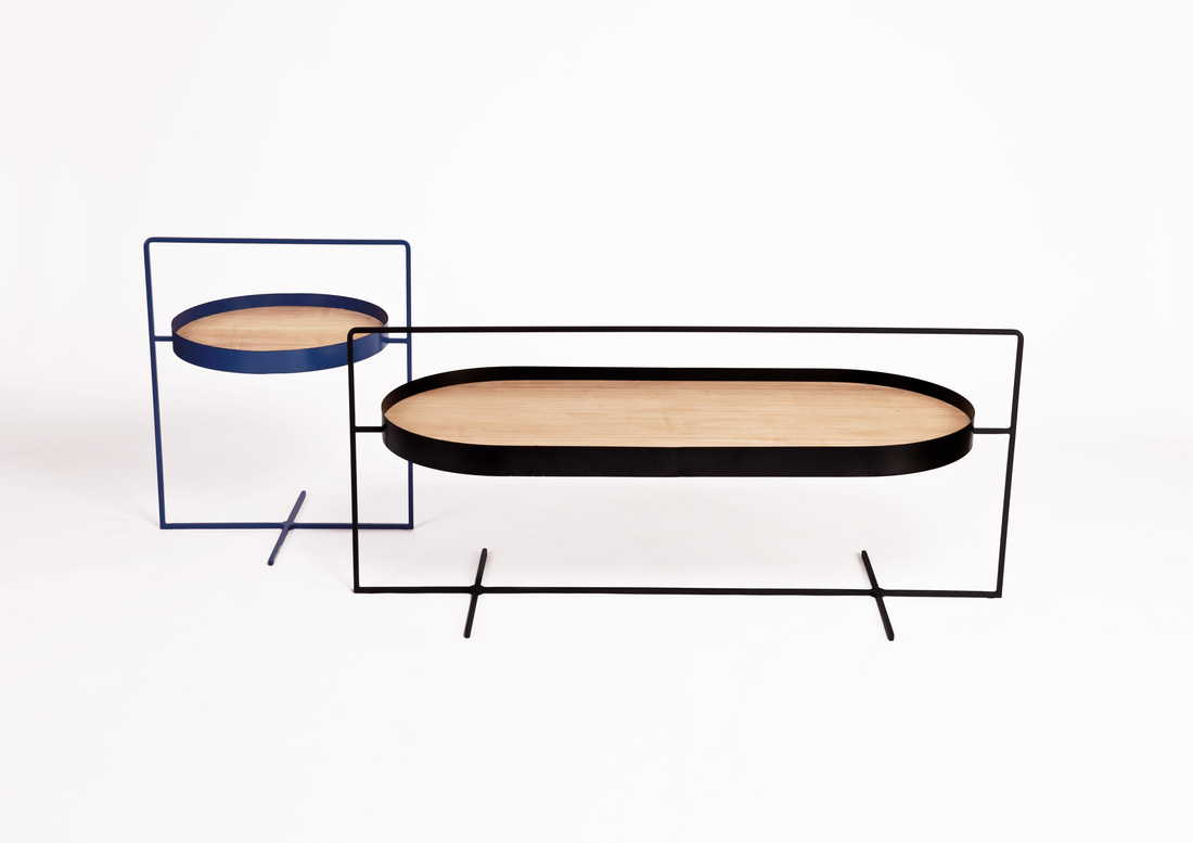Basket Coffee Tables by Mario Tsai for ZZ DESIGN