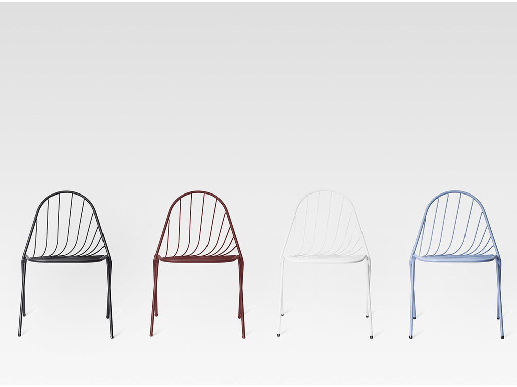Drapée Chairs by Constance Guisset for Petite Friture