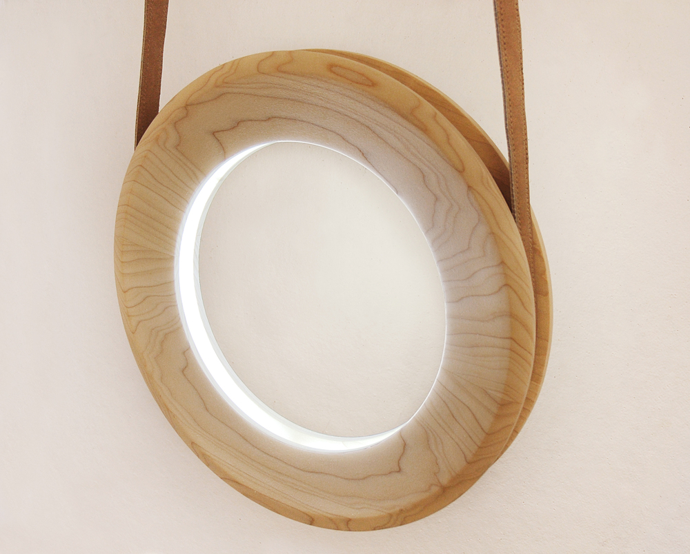 Halo Lamp by Kjartan Oskarsson