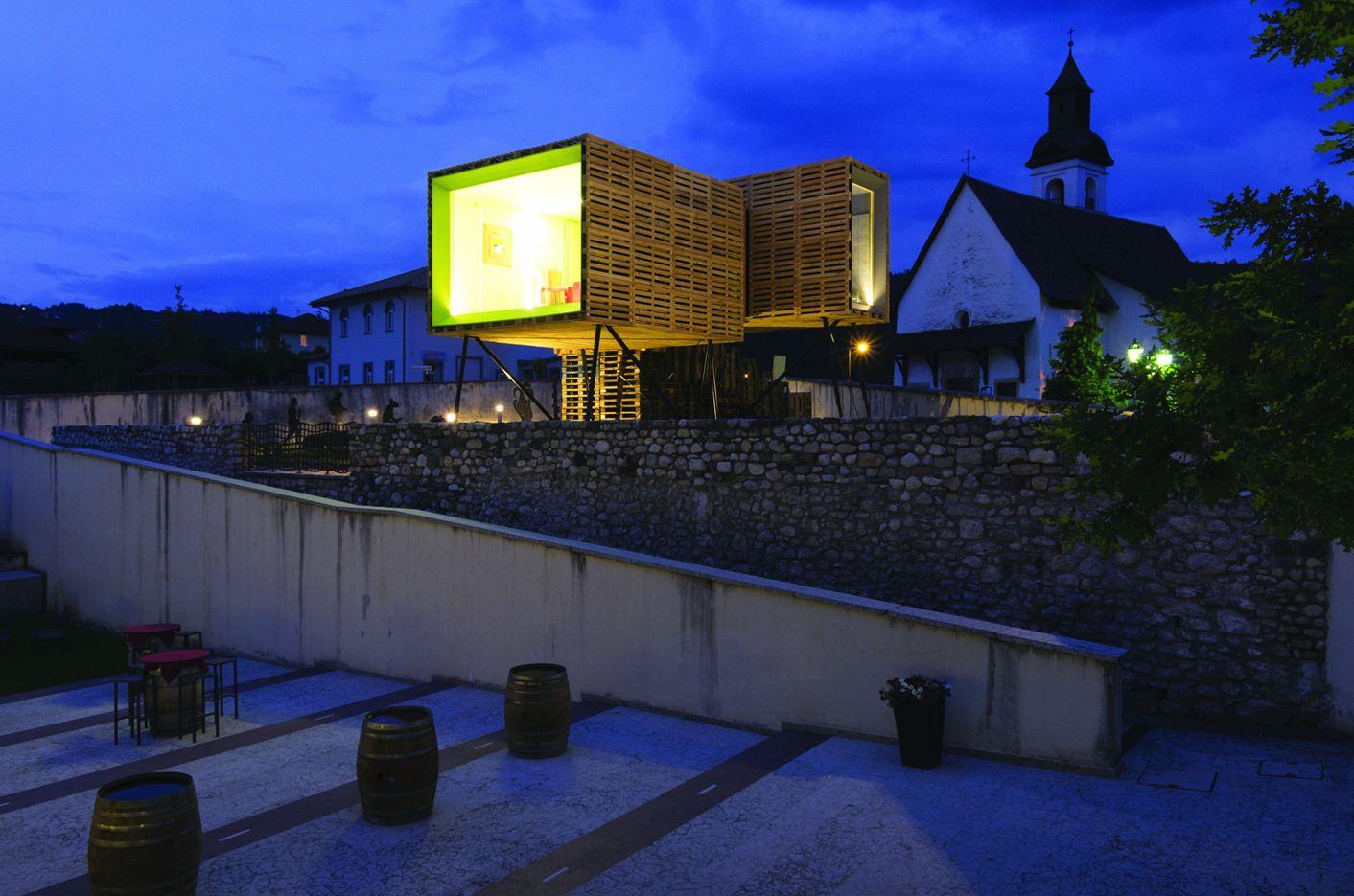 Homeair in Sanzeno, Italy by Mirko Franzoso Architetto