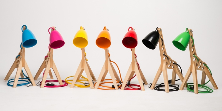Giffy Table Lamps by Leanter