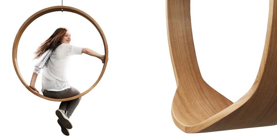 Swing Chair by Iwona Kosicka