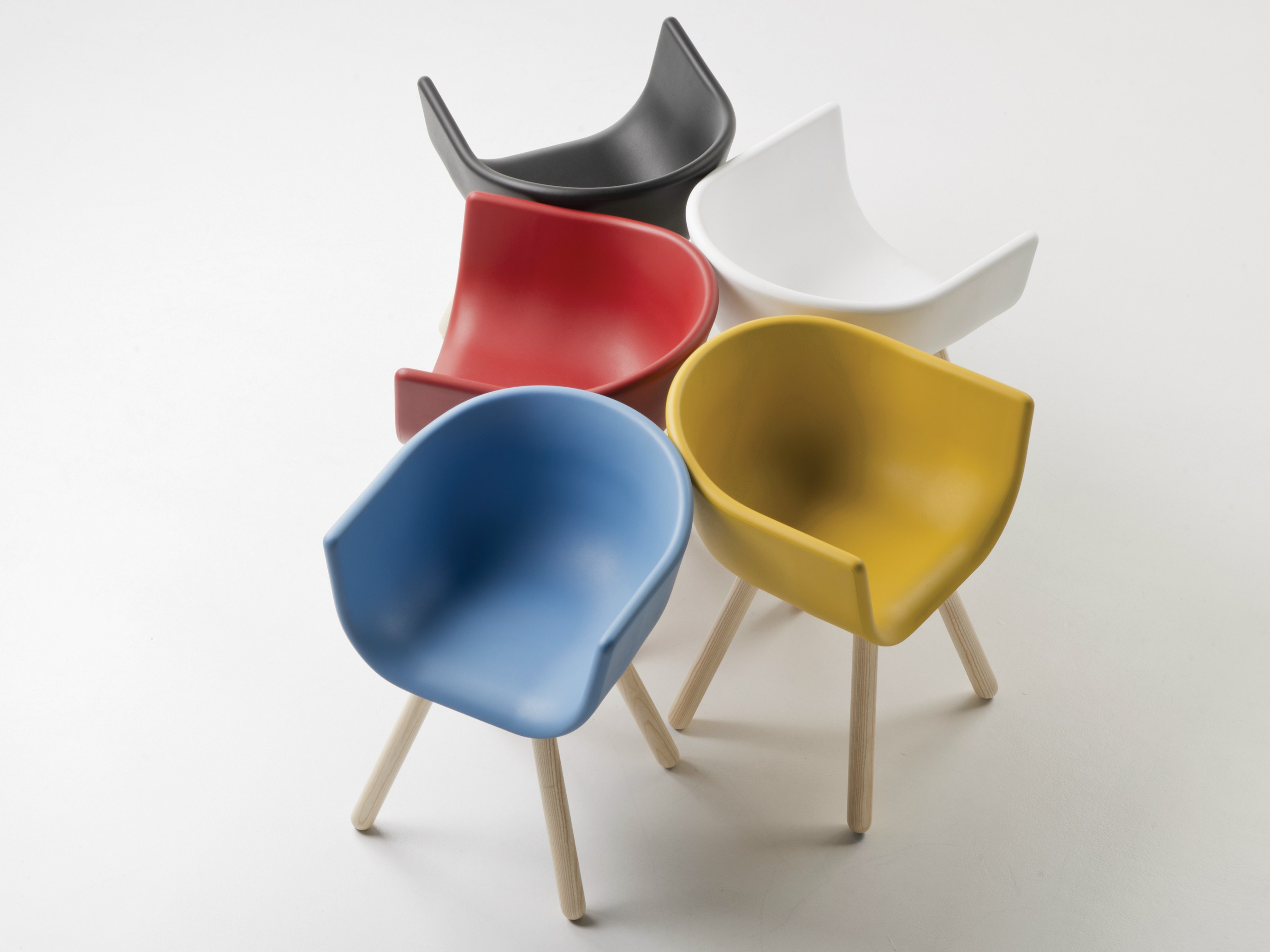 Tulip Small Chairs by Kazuko Okamoto for Chairs & More