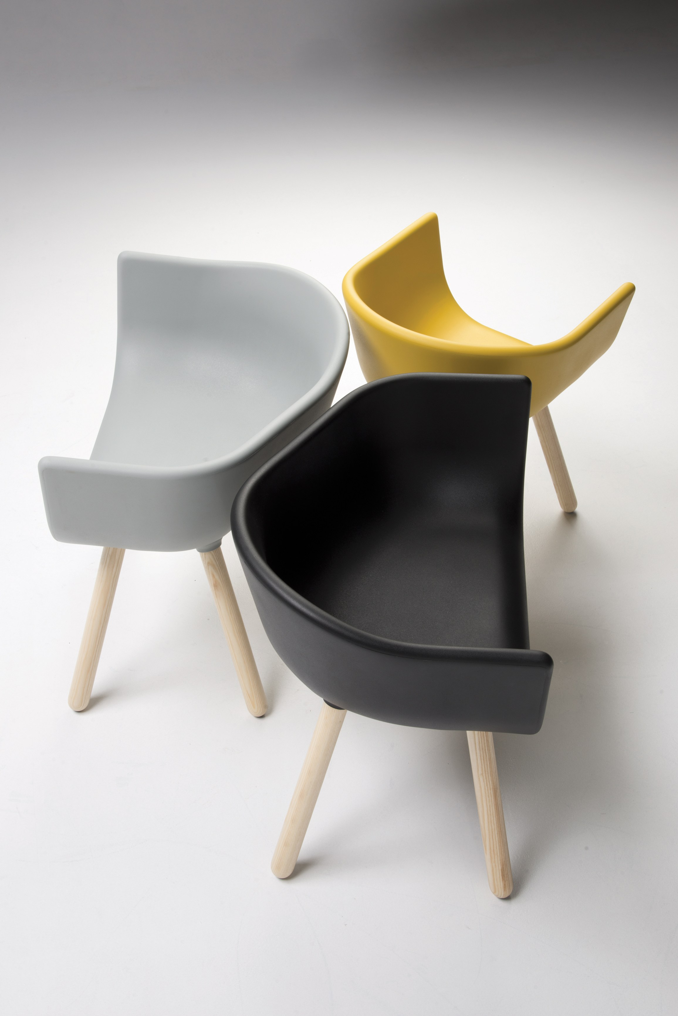 Tulip Large Chairs by Kazuko Okamoto for Chairs & More