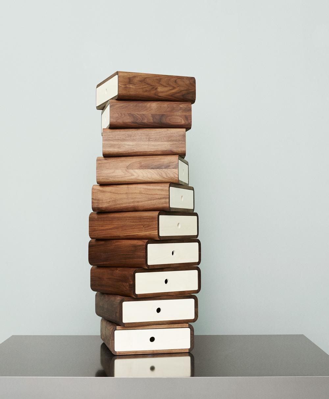 Turning Boxes by Hans Sandgren Jakobsen for Aksel Kjersgaard A/S