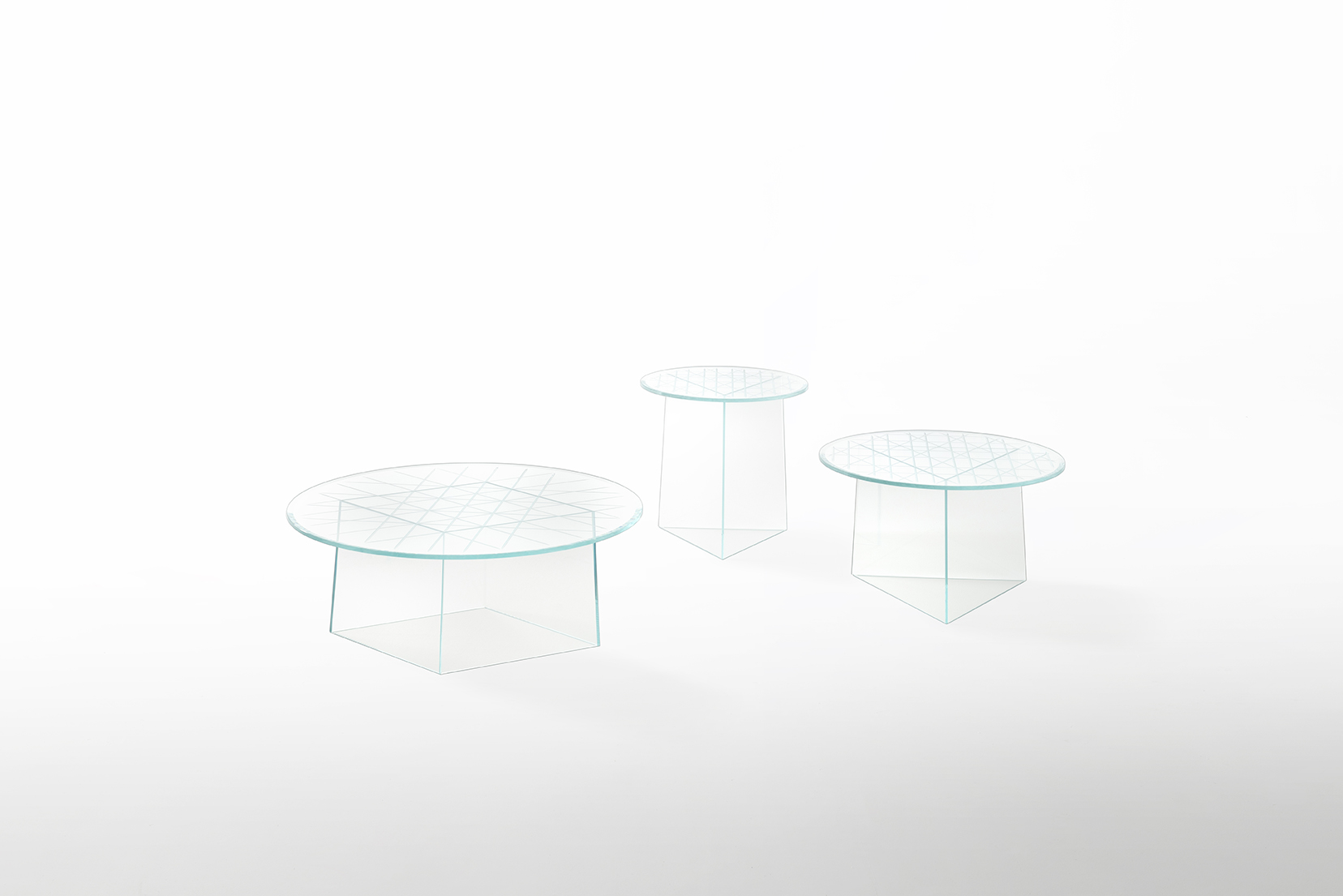 Twinkle Tables by Chiara Andreatti for Glas Italia