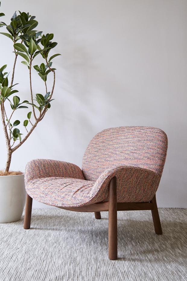 M Lounge Chair by Monica Förster for Arflex Japan