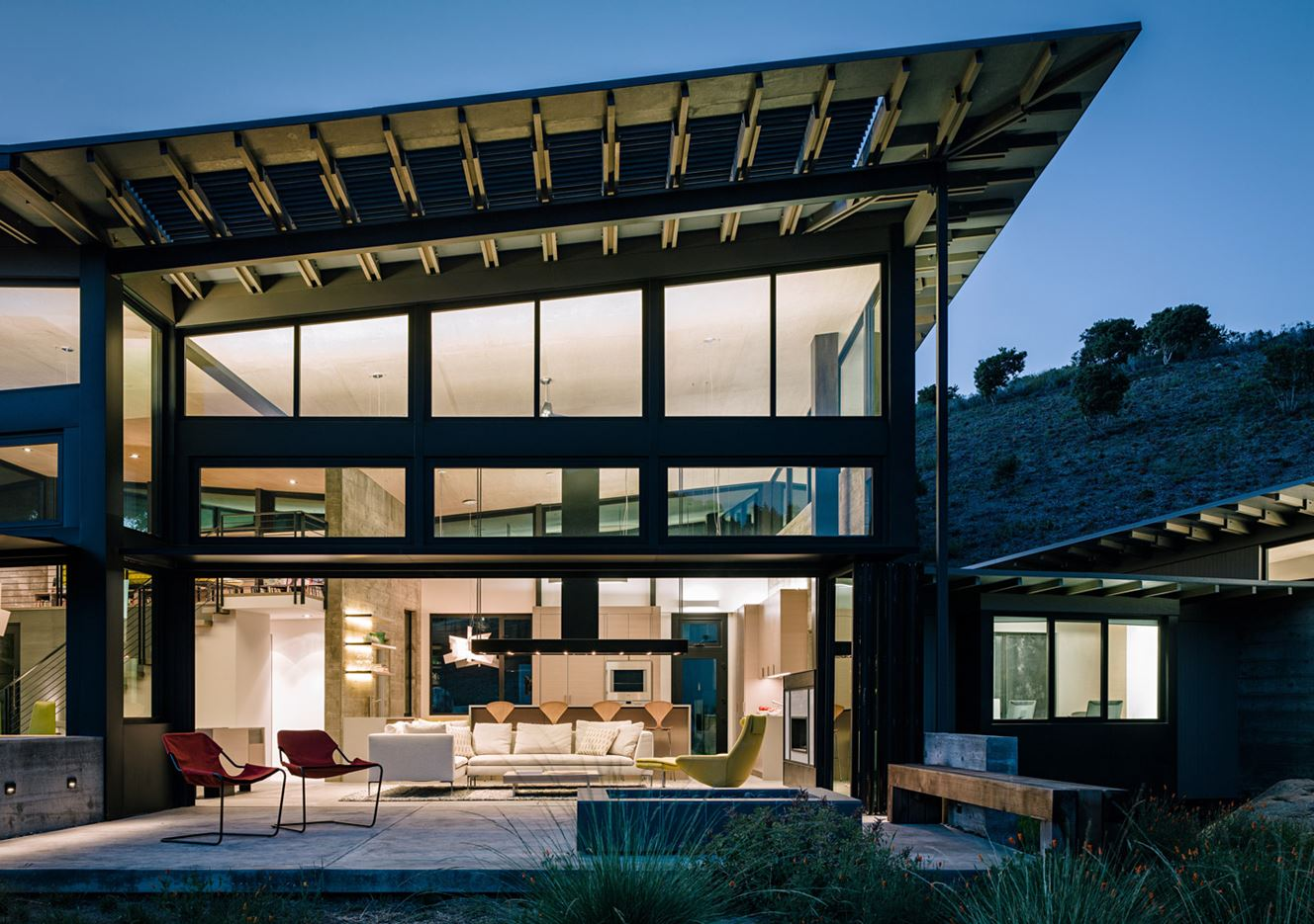 Butterfly House in Carmel, CA by Feldman Architecture