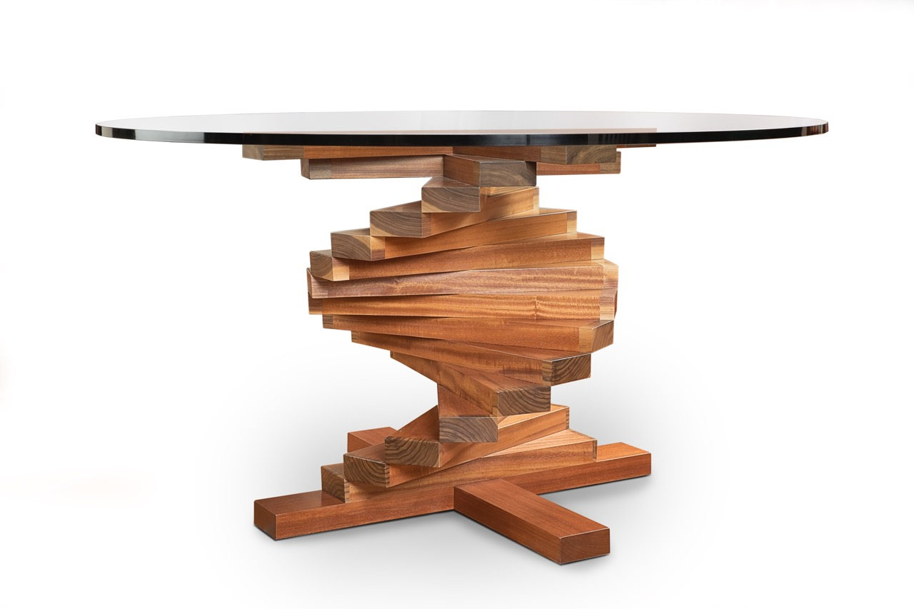 Spiral Table by Daniel Germani