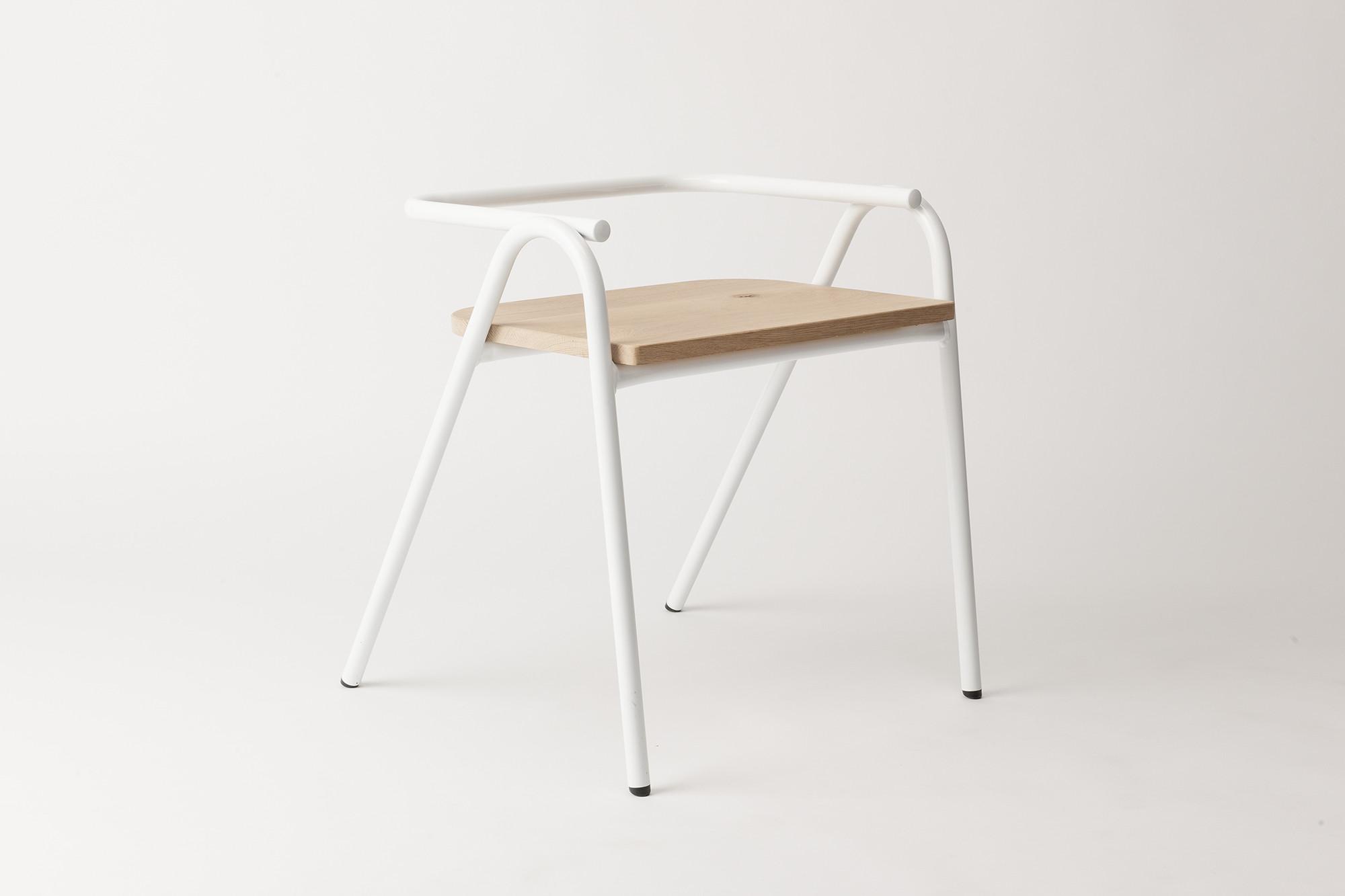 Half Hurdle Chair by Dowel Jones