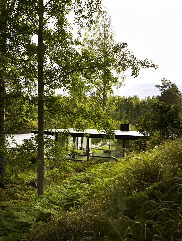 Lundnäs House in Hälsingland, Sweden by Delin Arkitektkontor