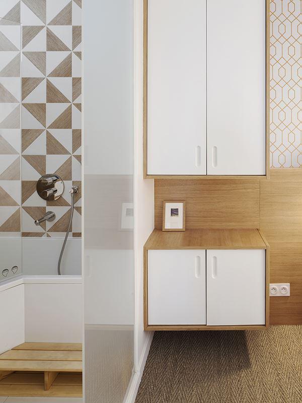 Malo & Paul Apartment in Paris, France by Batiik Studio