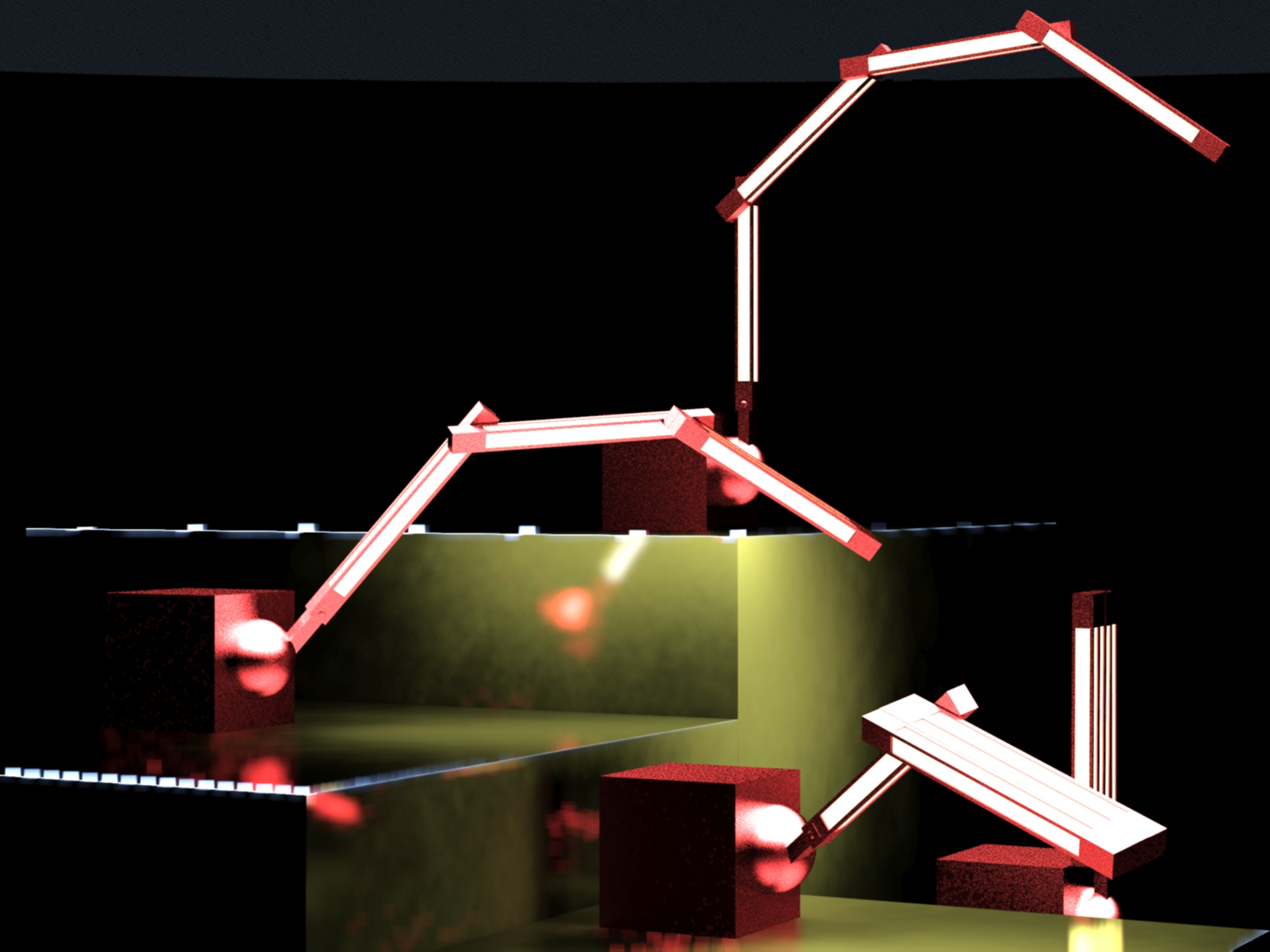Metro_Led Lamps by Cristian Sporzon