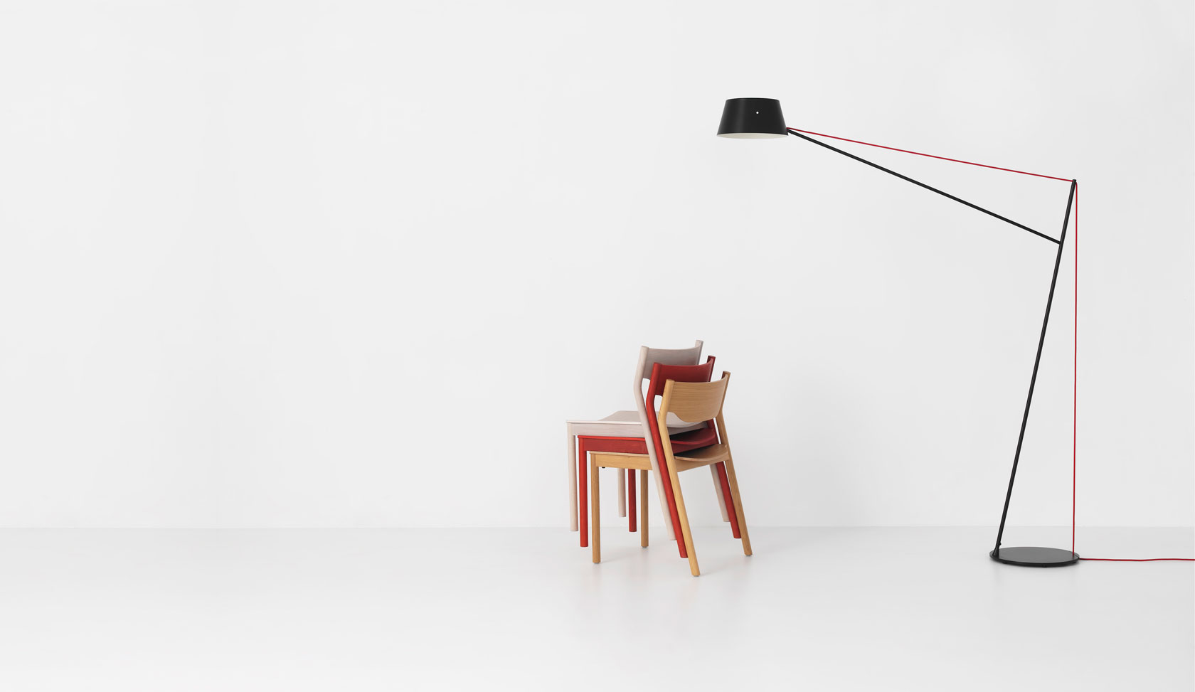 Spar Floor Light by Jamie McLellan for Resident