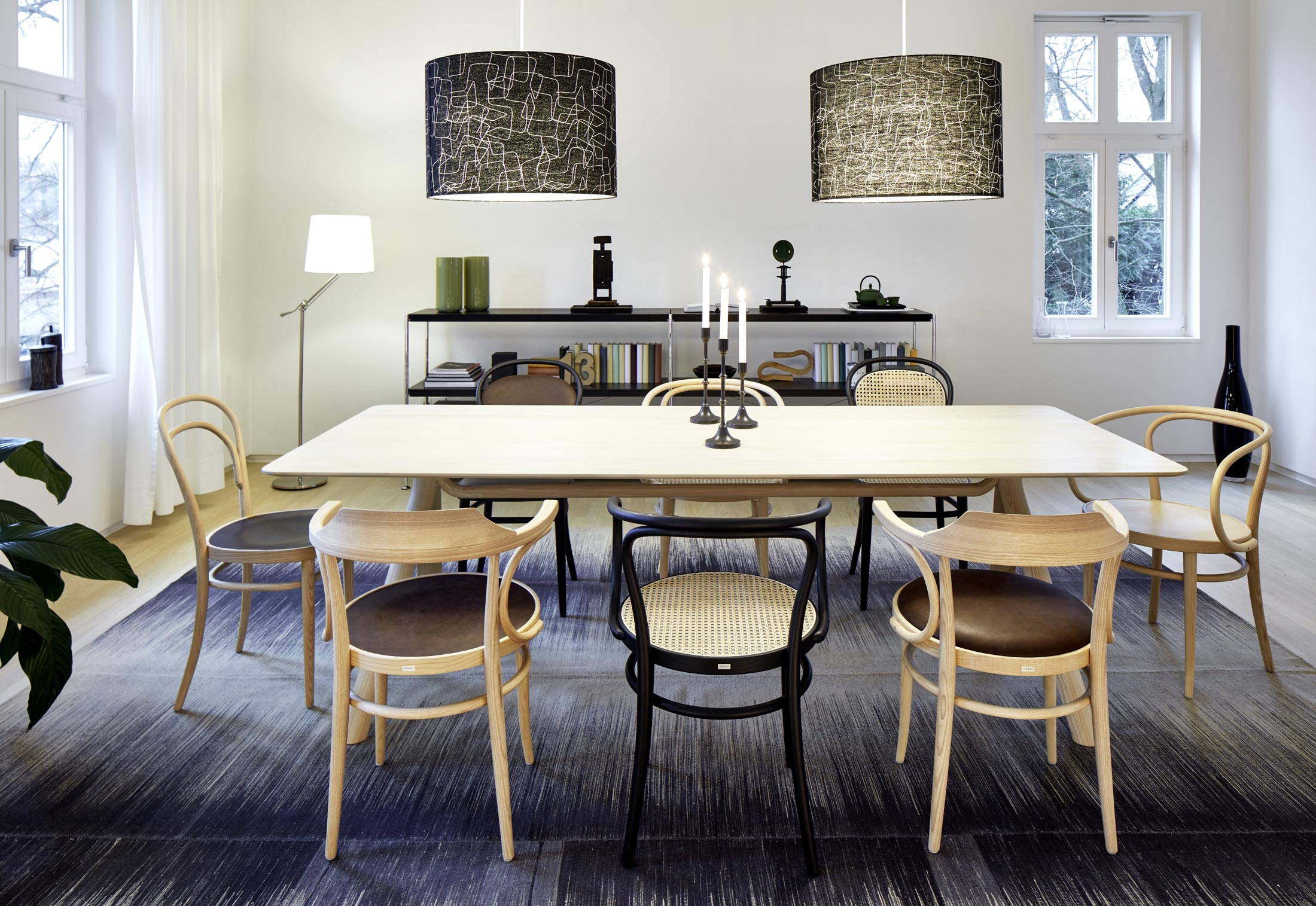 1060 Table by Jorre van Ast for Thonet