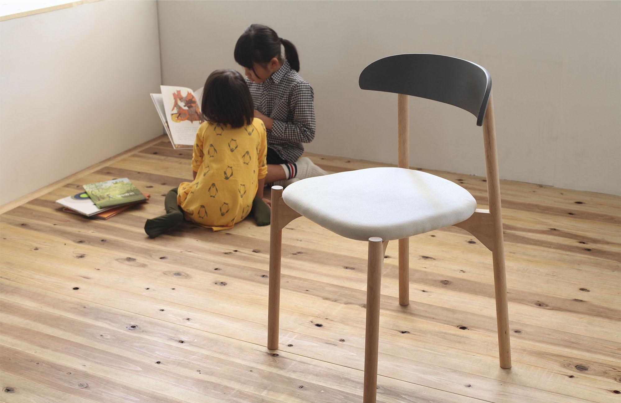 Bokuno Chair by Yu Matsuda