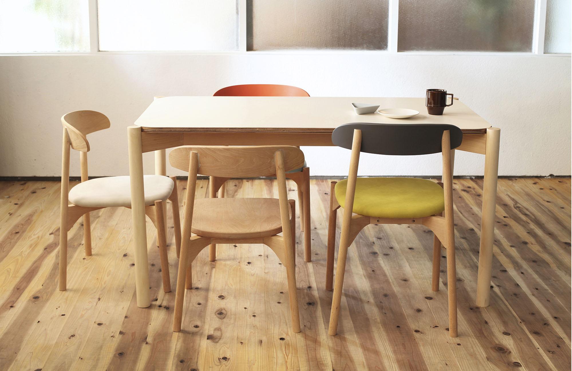 Bokuno Chairs by Yu Matsuda