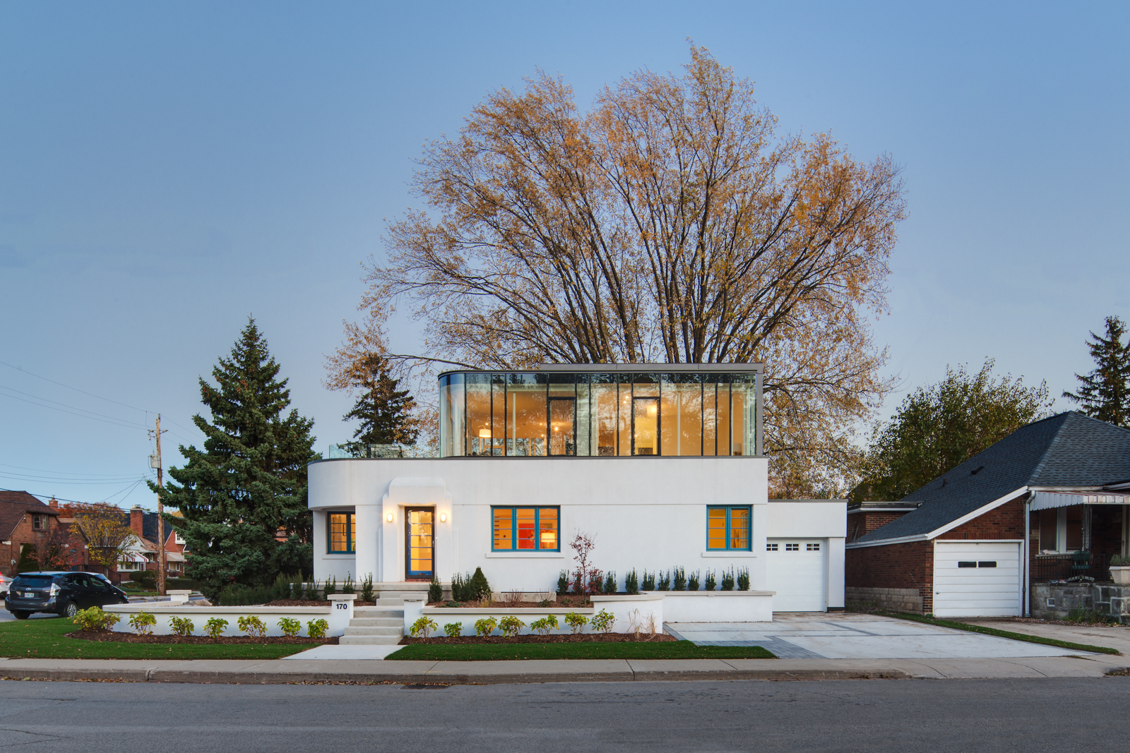 The Hambly House in Hamilton, Canada by DPAI & Toms + McNally Architecture