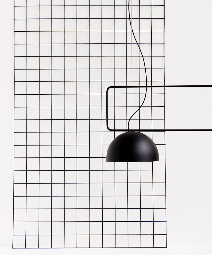 King Dome Lamp by Dowel Jones for Woodmark