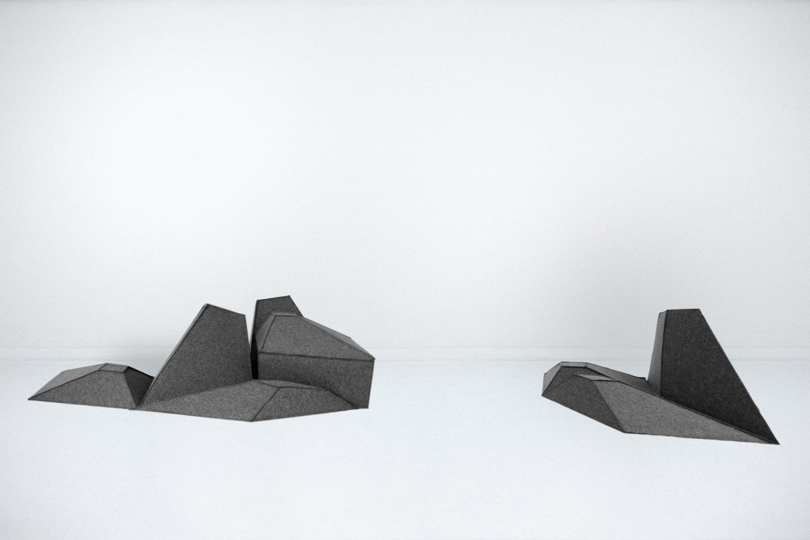 Les Angles Sculptural Collection by Stephanie Marin