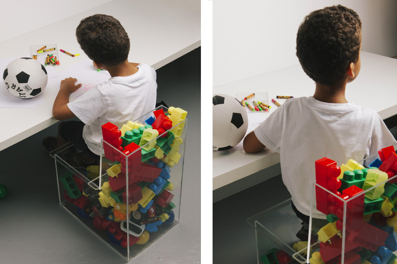 Mom Kids Chair by Carlo Contin