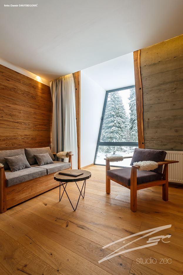 Hotel Pino in Sarajevo, Bosnia by Studio ZEC