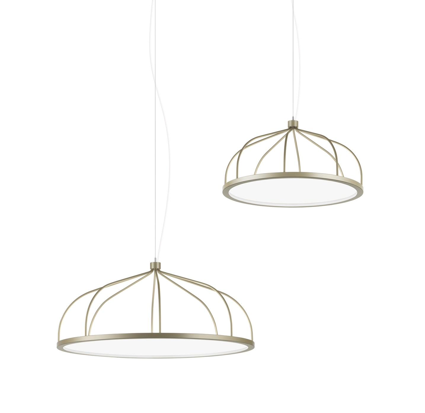 Plane Lamps by Front for Zero