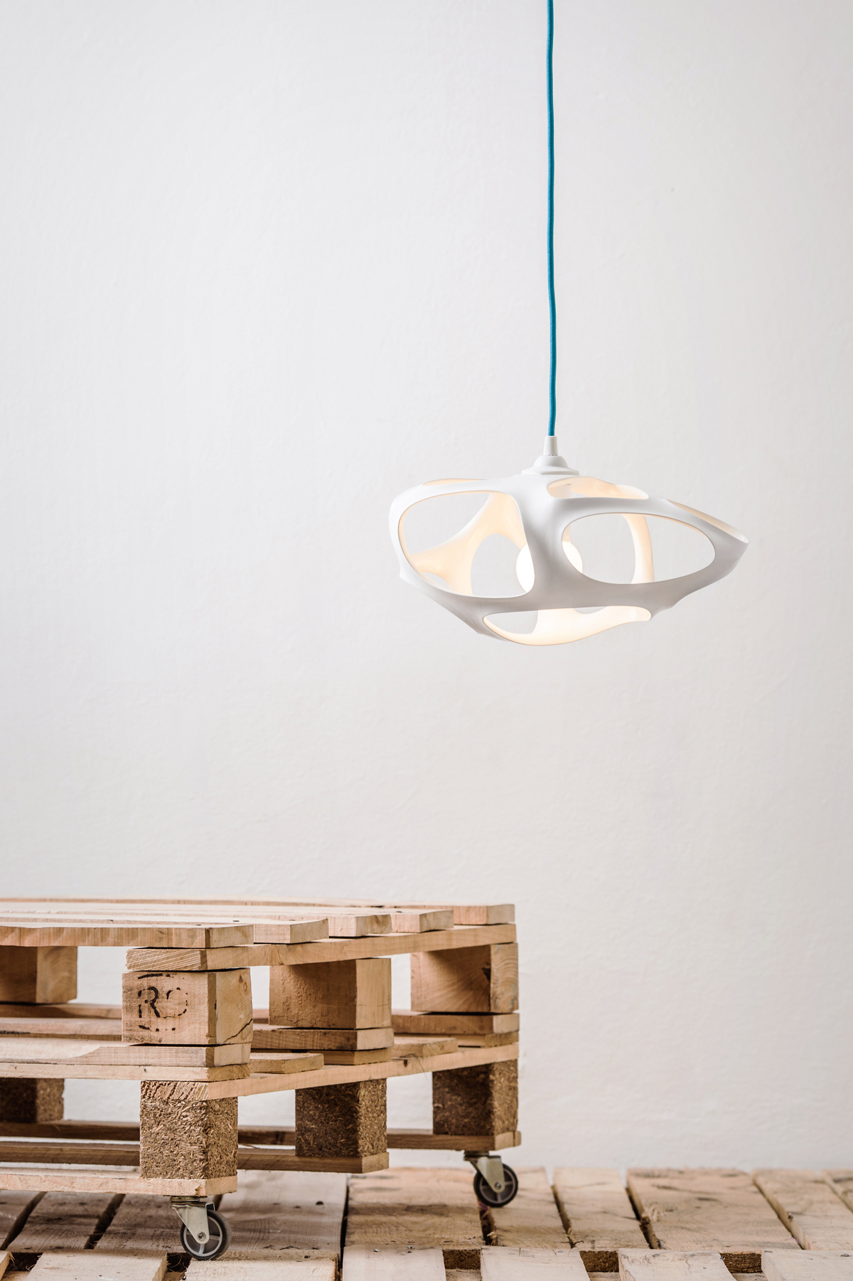 Vivia 3D Printed Lamp by Matus Danko
