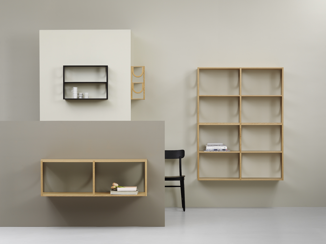 Arch Bookshelf by Note Design Studio for Fogia