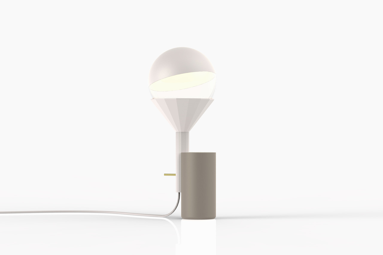 Inti Table Lamp by Moritz Putzier