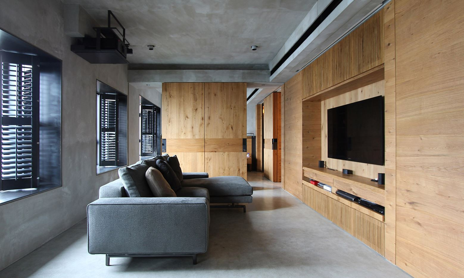 position: West Kowloon Private Apartment in Hong Kong by EDGE Design Institute