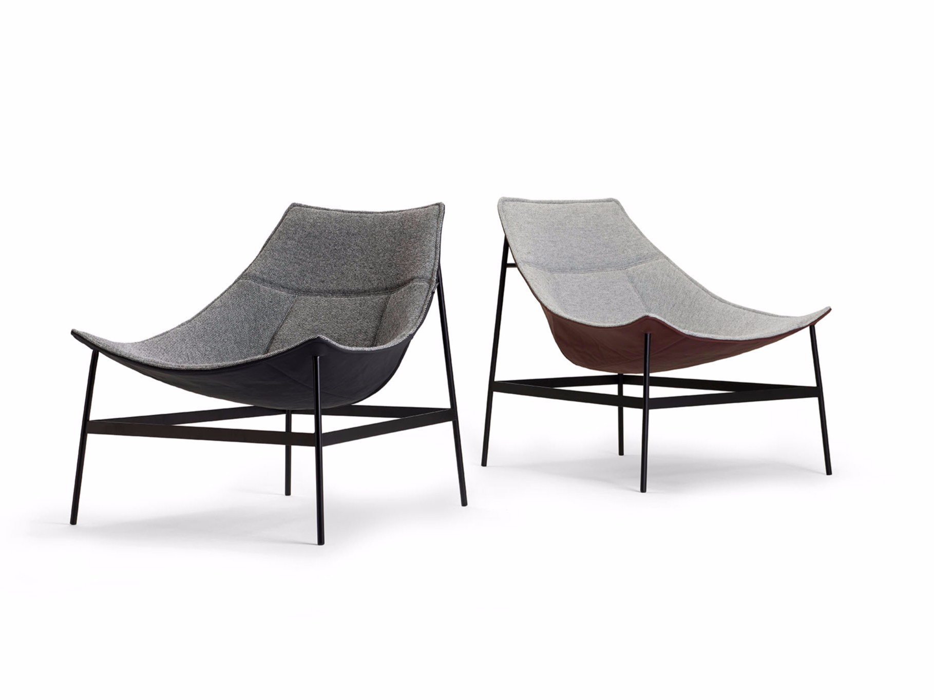 Montparnasse Lounge Chairs by Christophe Pillet for Offecct