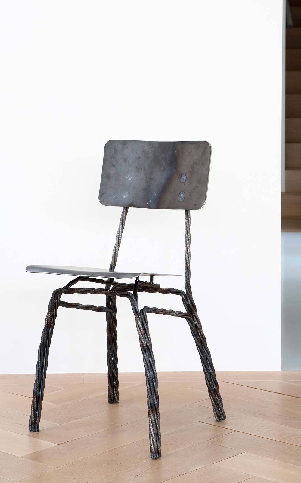 Twisted Chair by Ward Wijnant