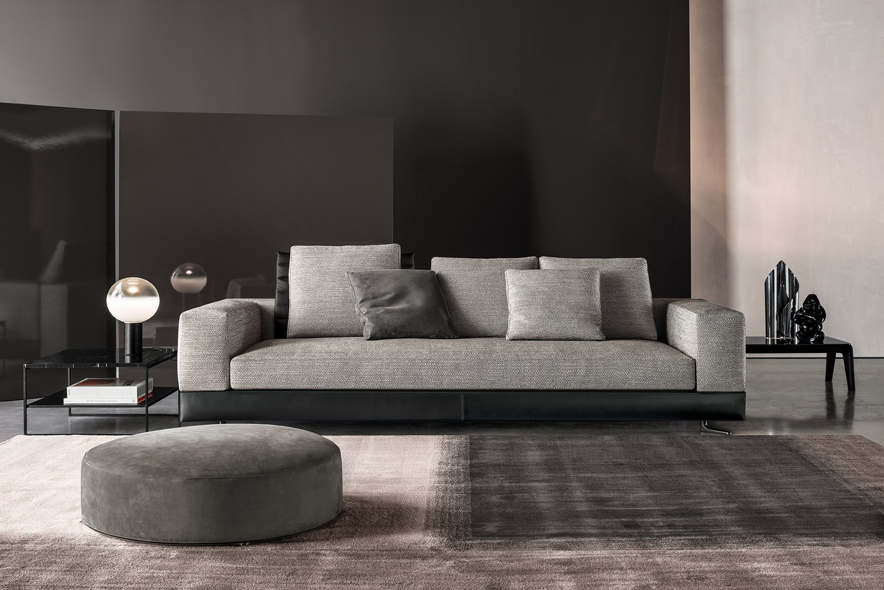 Admirable White Seating System By Rodolfo Dordoni For Minotti Caraccident5 Cool Chair Designs And Ideas Caraccident5Info