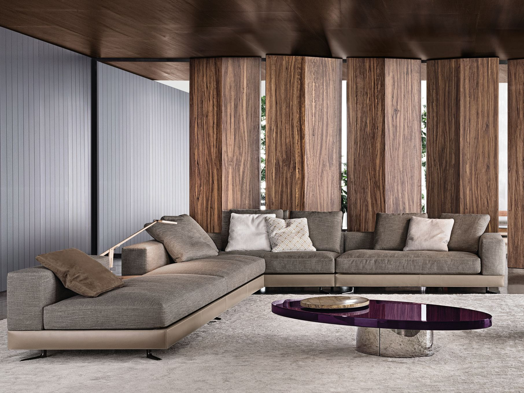 Tremendous White Seating System By Rodolfo Dordoni For Minotti Caraccident5 Cool Chair Designs And Ideas Caraccident5Info