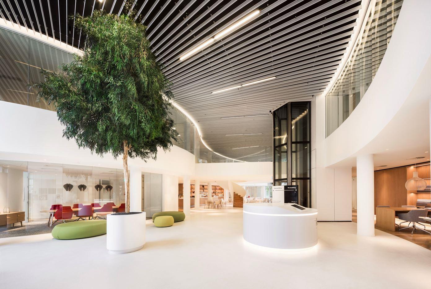 YinYang Office in Utrecht, Netherlands by Hofman Dujardin Architects