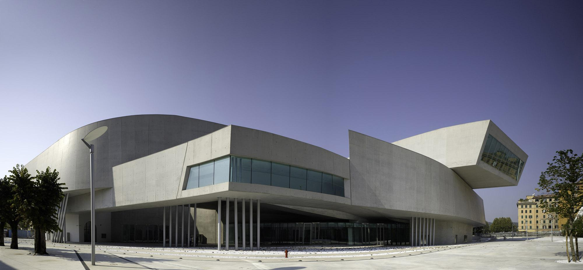MAXXI - National Museum of the 21st Century Arts in Rome