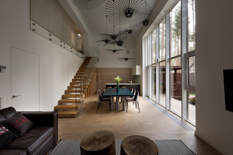 Contemporary Family House CUBE by Yakusha Design Studio