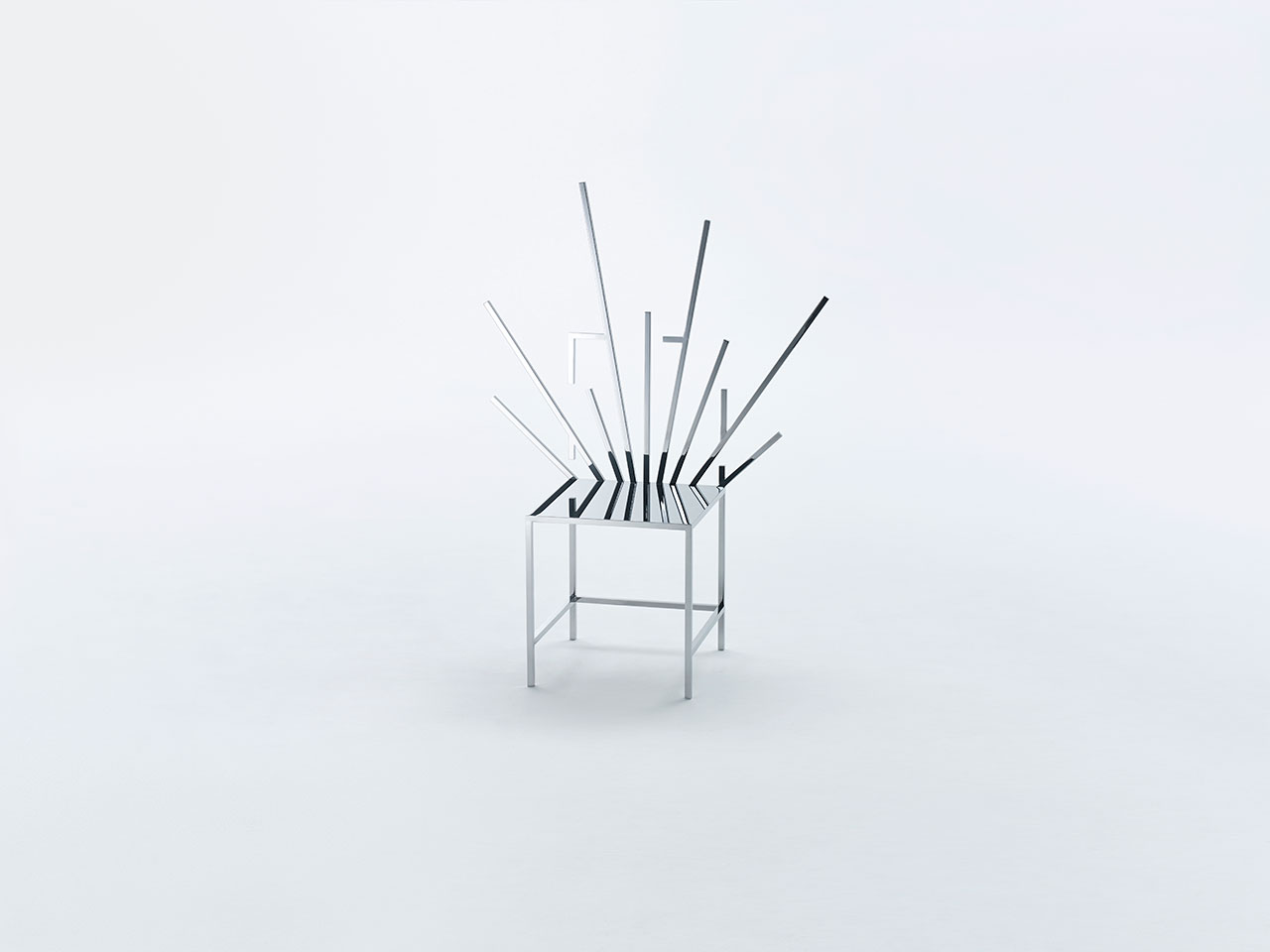 """""""50 Manga Chairs"""" by Nendo"""