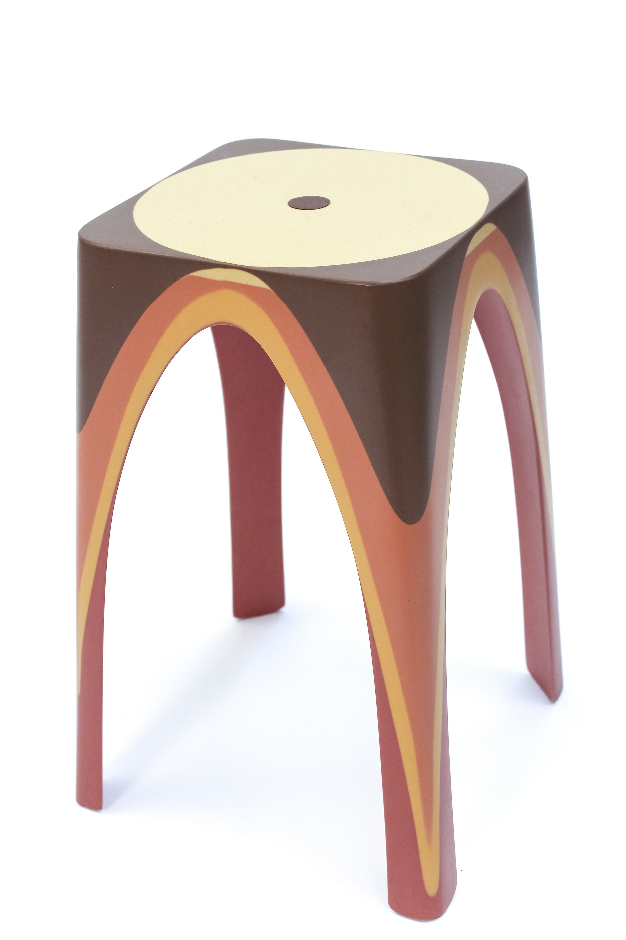 Matter of Motion Stool by Maor Aharon