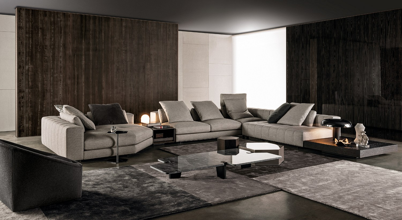 Freeman Modular Sofa by Rodolfo Dordoni for Minotti