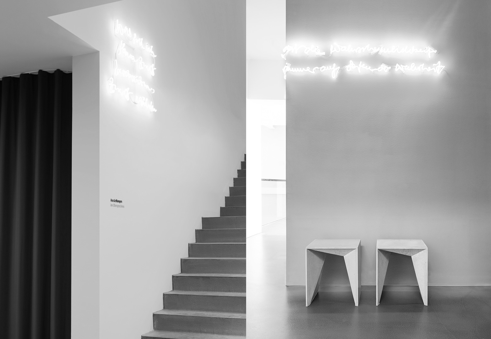 HOCKER HEINRICH Concrete Stools by Panatom & Matthias Froböse