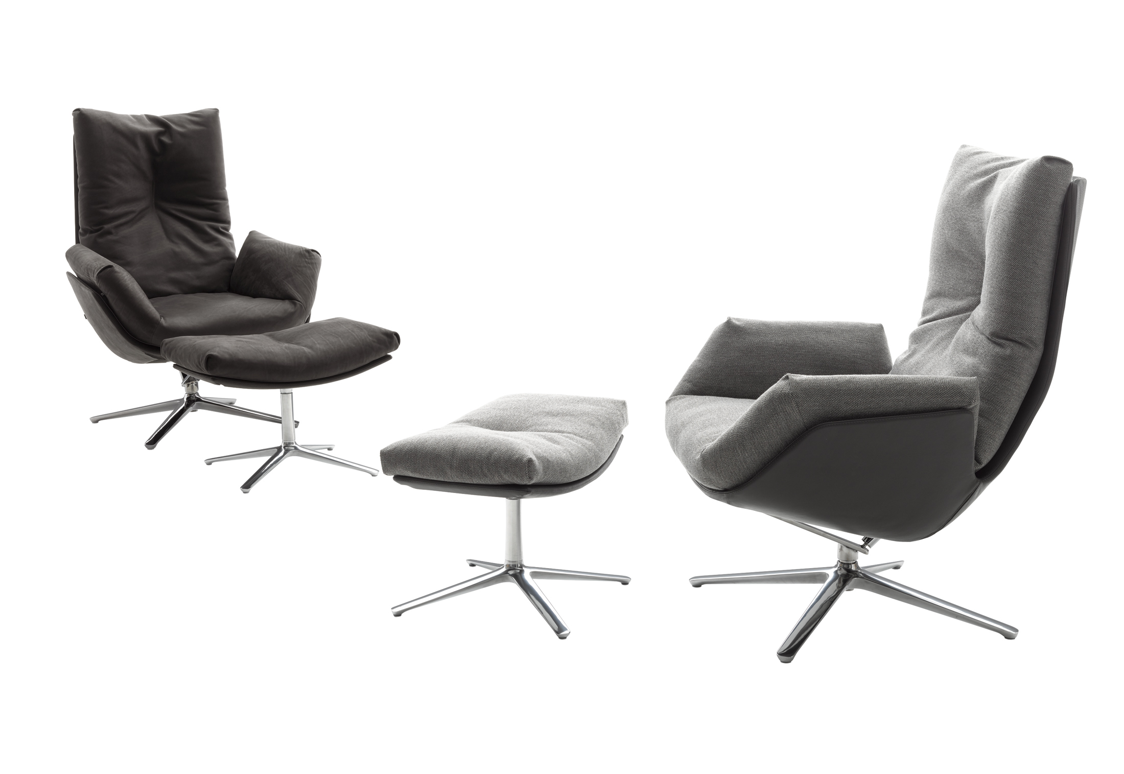 Cordia Lounge Chairs by Jehs + Laub for COR