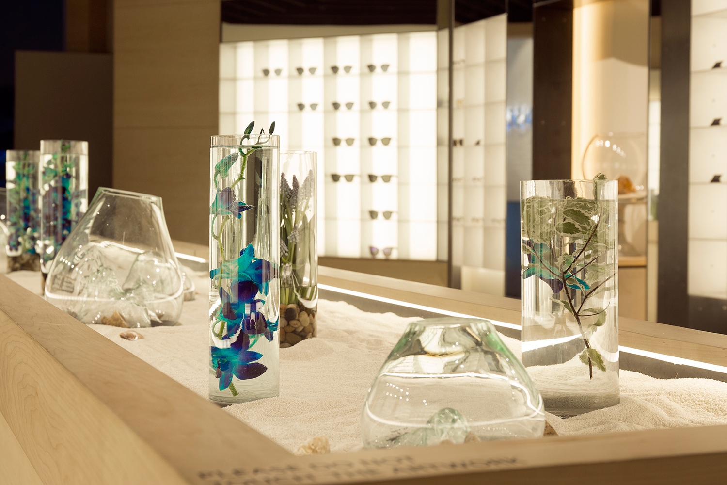 40966529ff9 Gentle Monster Transforms Its NY Flagship With Ocean-Inspired Glass ...