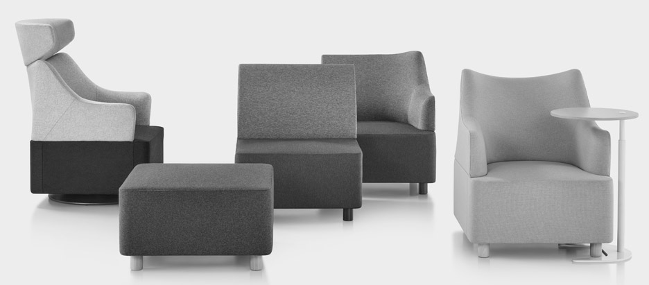 Herman Miller Launches Plex Modular Lounge Seating By Industrial