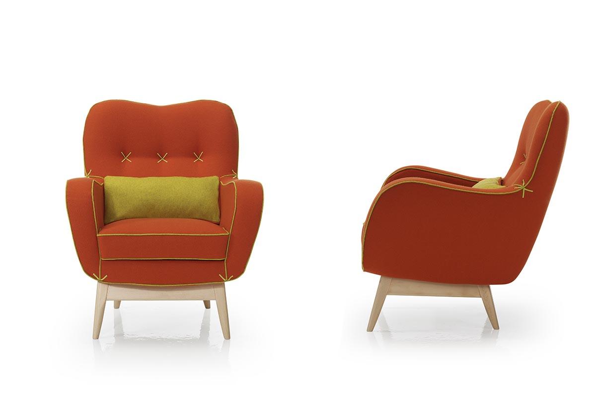 Vega Armchairs by Teresa Sapey for ECUS