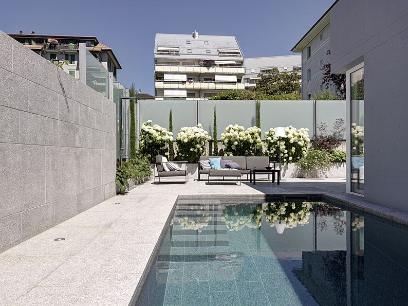 Collector's Oasis in Lausanne, Switzerland by Daniele Claudio Taddei Architect