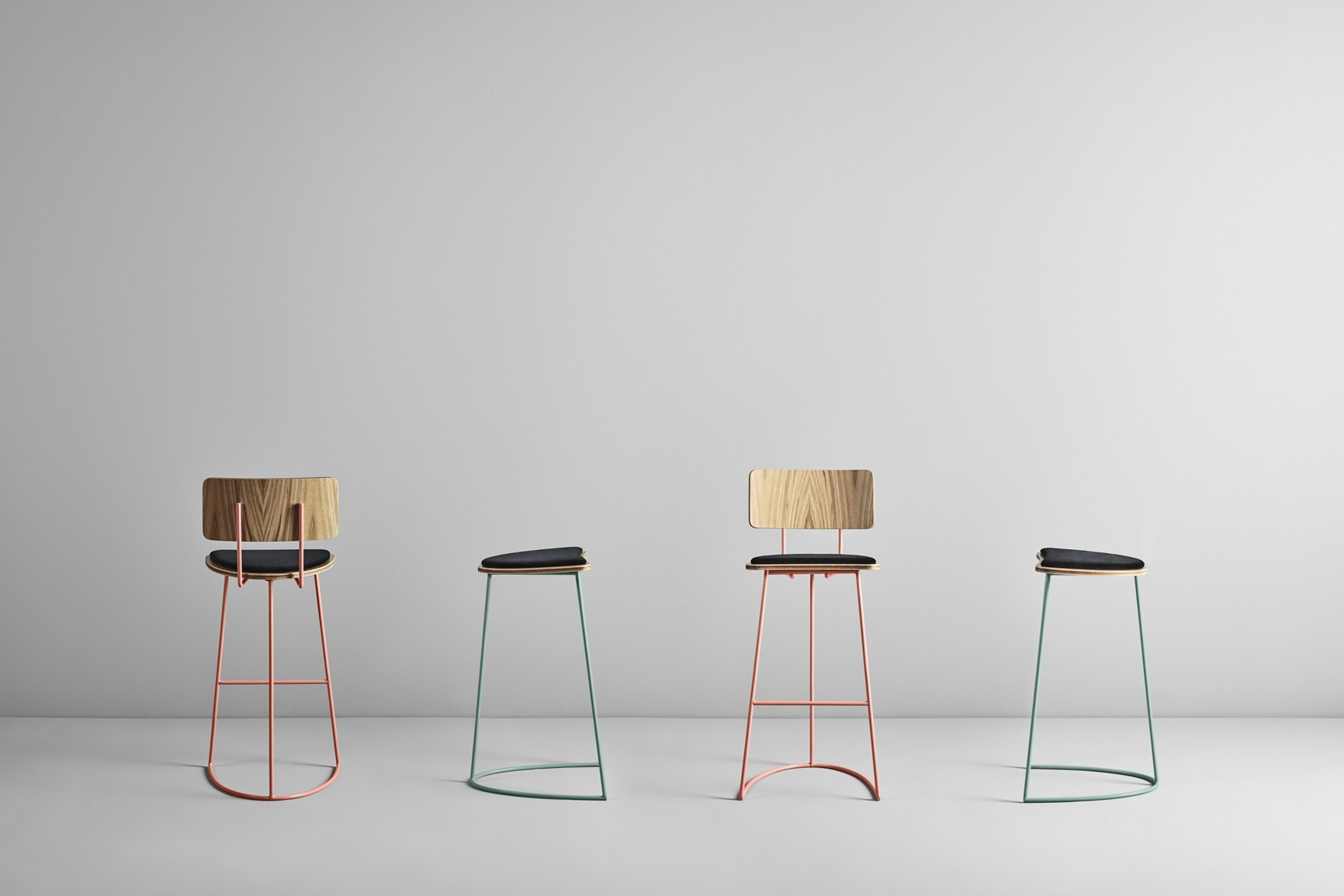 Boomerang Barstool by Cardeoli for Missana