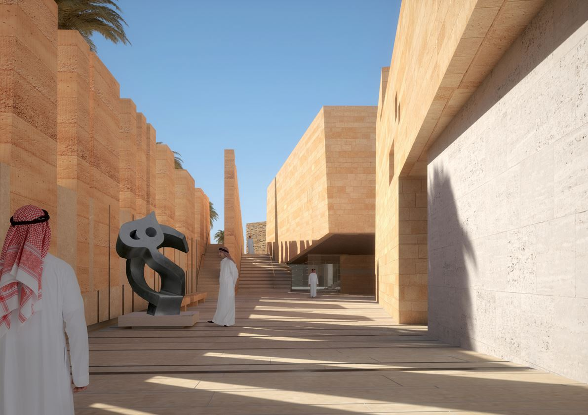 Addiriyah Art Center in Ad Diriyah, Saudi Arabia by Schiattarella Associati