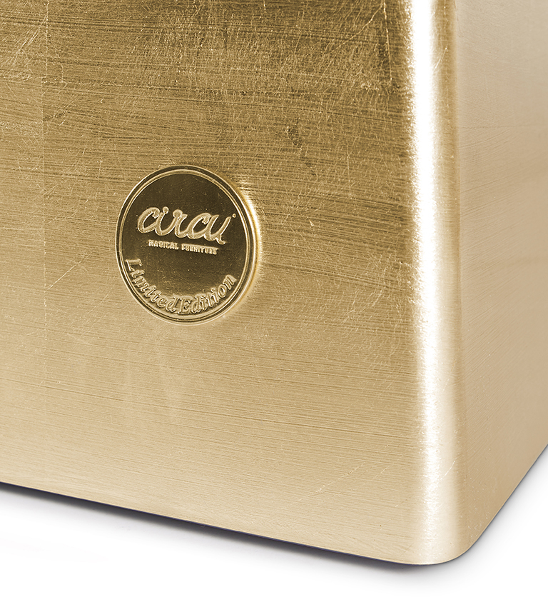 Gold Box Toy Box by Circu